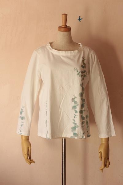 ユーカリ 長袖Tシャツ