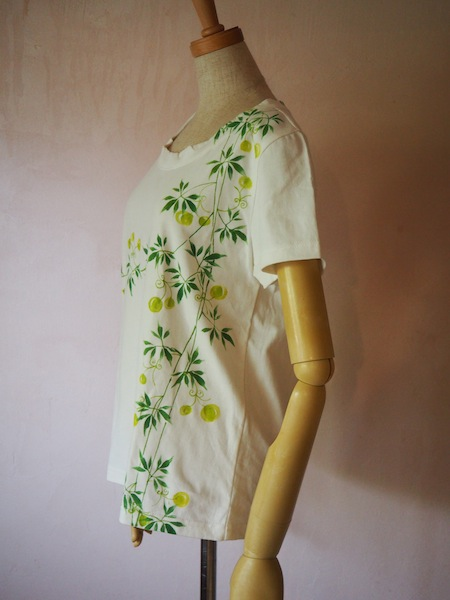 ふうせんかずら オリジナルTシャツ 白 大